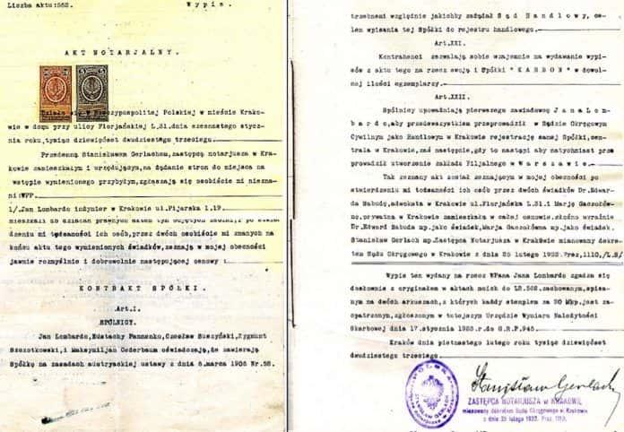 księgi notarialne