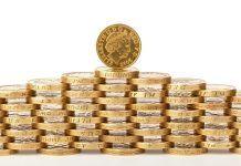 złote monety