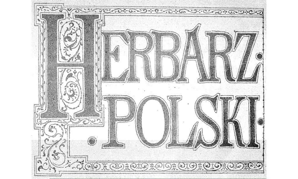 adam boniecki herbarz polski