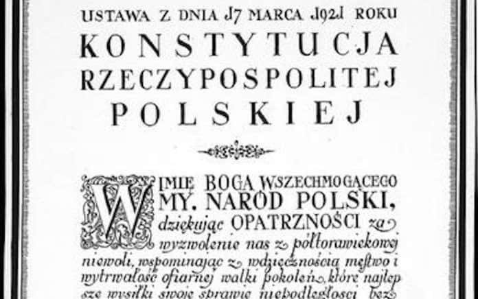 konstytucja marcowa