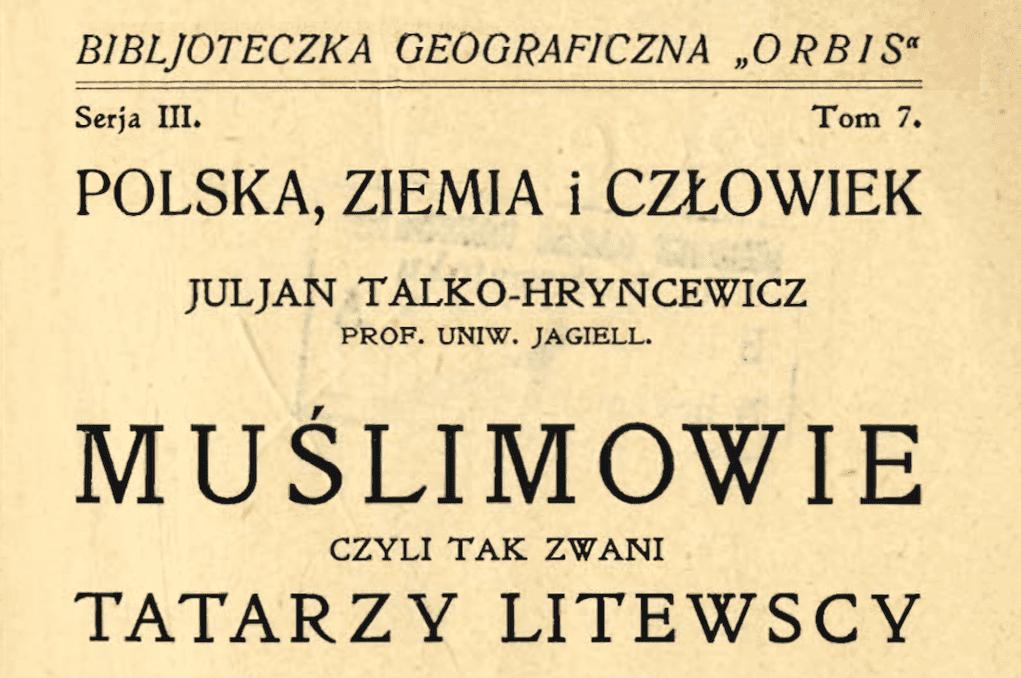muślimowie tatarzy litewscy